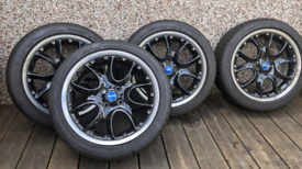"Mini 17"" Web-spoke alloy wheels"