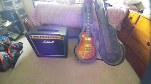 Epiphone Les Paul Ultra and Marshall DSL 15c with Dimebag Darrel