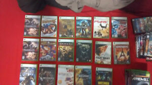 17 Xbox 360 games for sale (for all is 80$)