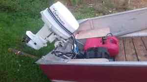 14 ft aluminum boat with