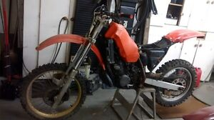 86 CR 250 parts or project