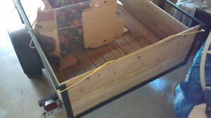 Well Built 5'x8' Utility Trailer Needs New Home Peterborough Peterborough Area image 2