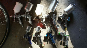 Sata Minijet3000,DevilbisSri&Finishline & other spray guns