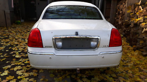 Lincoln town car parts