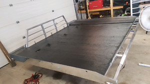 LIKE NEW!! Cross Trax Sled Deck with extension.