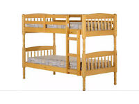 Solid Wood Bunk Beds REDUCED! REDUCED! FOR QUICK SALE