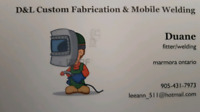 Mobile Welding and Custome Fabrication