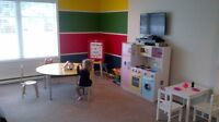 A fun place to play and learn / space available May 1st