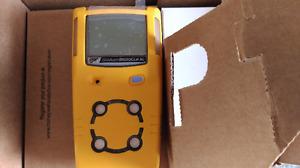 Brand New 4 Head Gas Monitor (LEL, H2S, O2, CO) - Still in box