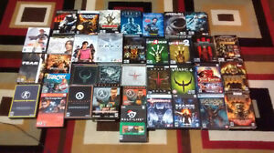 A big ol' crate of PC games. Sold as a bundle.