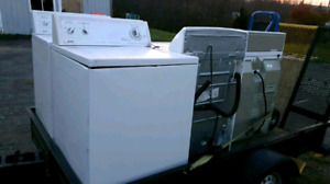 Offering FREE pickup of broken washers and dryers