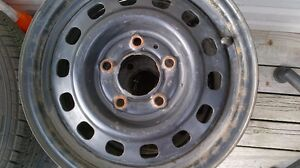 14 INCH 5x115 4 RIMS FOR $60 FITS PONTIAC CHEVY DODGE AND MORE