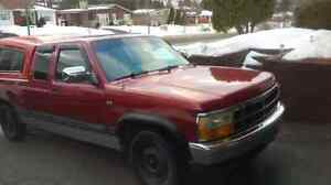 Dodge dakota trade for moto cross