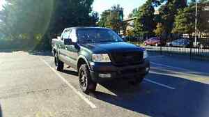 2004 Ford F-150 SuperCrew Forest Green Pickup Truck