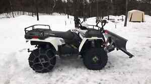 Polaris Sportsman 500 with trailer
