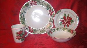 Christmas Dish Set Prince George British Columbia image 1
