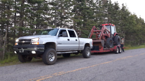 Truck and trailers for hire