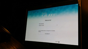 Samsung Galaxy Tab S - 16G - WIFI - comes with keyboard case