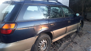2003 Subaru  Outback for parts