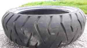 160/60R14M/C 65H tire from a Suzuki Burgman 650