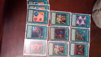 Yu-gi-oh cards. Rare and common