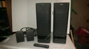 Sony surround speakers - moving must go!