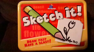 sketch it game Great for Christmas Kitchener / Waterloo Kitchener Area image 1