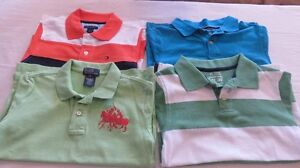 4 Boys Golf Polo Tops Variety Colors Size 5 Years