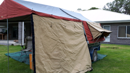 Oztrail 9 camper trailer tent only near perfect condition Glenhaven The Hills District Preview