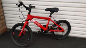 Raleigh Zero bike 16 inch wheels