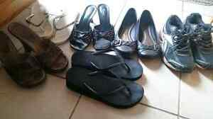 Women's size 9/10 shoes! $10 for the lot