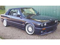 BMW E30 Convertible 320i
