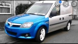 VAUXHALL TIGRA FRONT END / TIGBO - COMBO FRONT END CONVERSION, SEE PIC