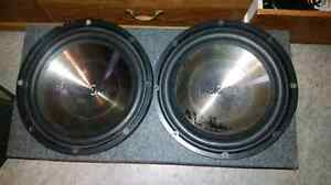 Insignia subwoofers