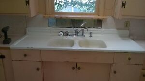 antique cast iron sink for sale or trade