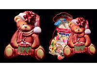 Xmas teddy Tin