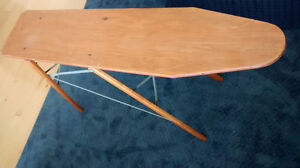 Vintage wooden ironing board / hall table