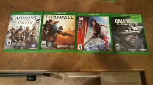 selling xbox one video games for 10 dollars each