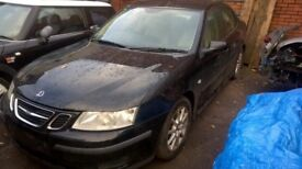 Breaking Parts Only Saab 9-3 150bhp