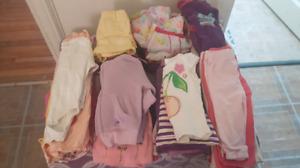 EUC baby girl clothes