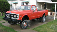 ONE OF A KIND 1969 CHEV 1 TON DUALLY 4X4 MEAN MACHINE