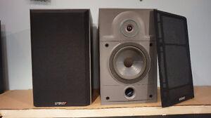S ENERGY 2.1e Bookshelf speakers