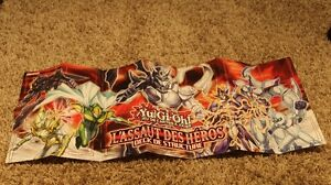 Yu-Gi-Oh! TCG HERO Strike Structure Deck Duel Mat (French)