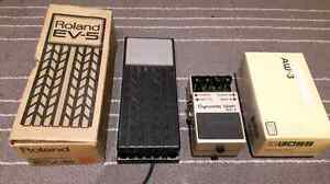 Boss aw-3 wah + expression pedal
