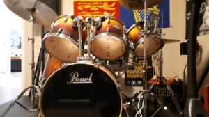 Pearl vision birtch drum kit