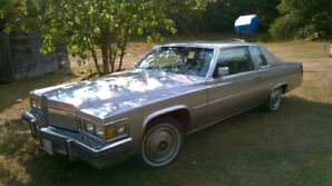 1979 Cadillac , only 17,214 km
