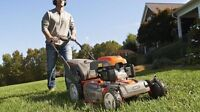 Lawnmowing services in Thunderbay