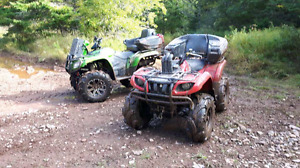 """Yamaha grizzly 660 tons of mods """"Frame is Broken """""""