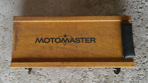 vintage Canadian Tire MotoMaster wooden automobile creeper