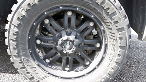 Selling some awesome tires and rims.